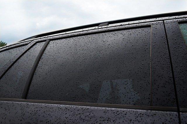Тонированные стекла машине